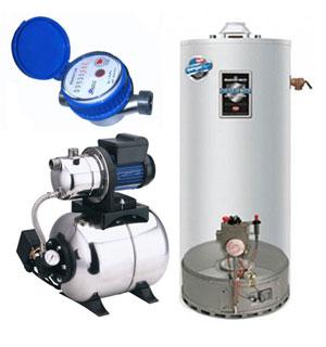Ohřívače vody - bojlery - vodárny - vodoměry