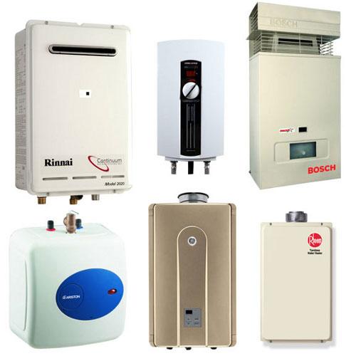 Zásobníkové ohřívače teplé užitkové vody - boilery