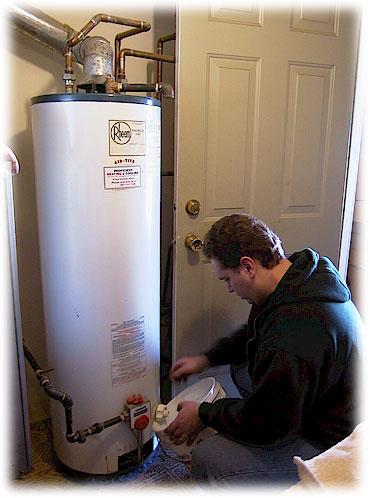 Montáž zásobníkového ohřívače vody