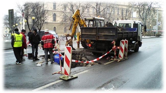 Náš nonstop servis zajistí havarijní opravy vody kdekoli v ČR  a SR
