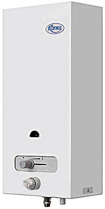 Nástěnný průtokový ohřívač vody